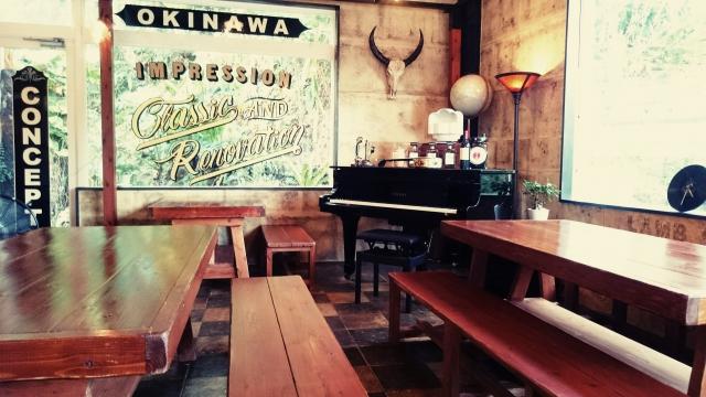 カフェの店内